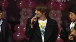 [100117] SS501 Kim HyungJun gives a support to his brother, Kim KiBum & U-KISS!