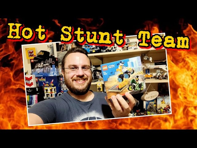 Lego Stunt Team - Hot Stunt Show For Your City (60225)