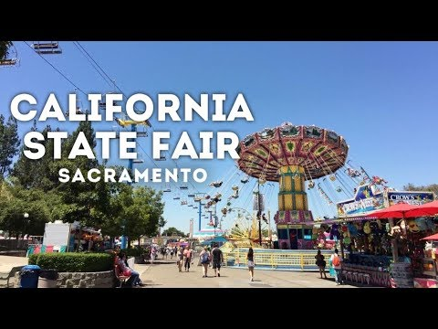 California State Fair 2017 at Calexpo, Sacramento, California 4K