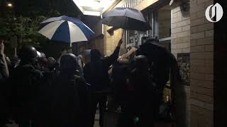 Portland protest declared a riot on 70th night