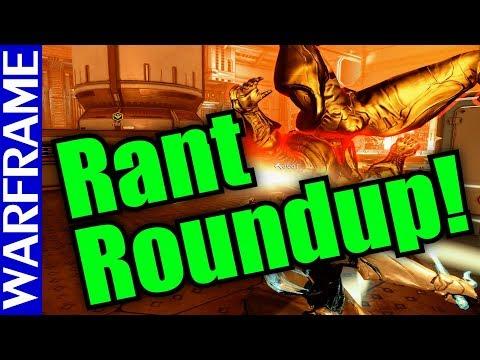 Warframe Rant Roundup! PoE Woes, RIP Zenurik + Epic Rant of the Week