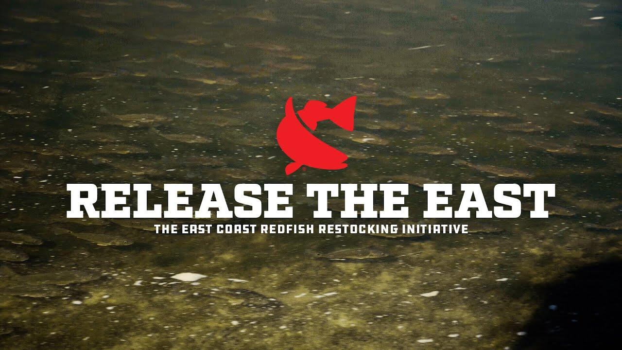 Release The East | CCA Florida x Mud Hole Custom Tackle | East Coast Redfish Restocking Initiative