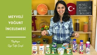 Diyet Yaparken Meyveli Yoğurt ve Kefir Ürünleri Tüketilir Mi? - Diyetisyen Ayşe Tuğba Şengel