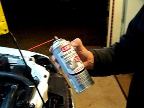 How To Clean A Mass Air Flow Sensor Maf Youtube