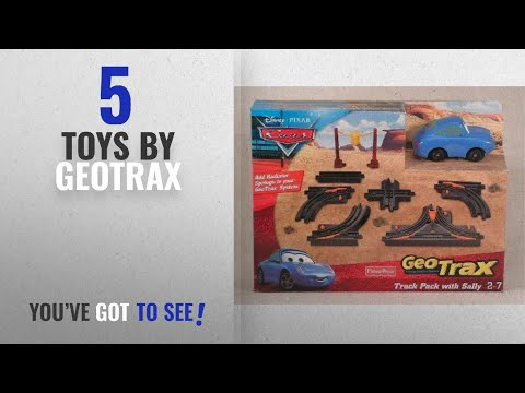 Top 10 Geotrax Toys [2018]: Fisher-Price Geotrax Cars Elevation Track Pack With Sally