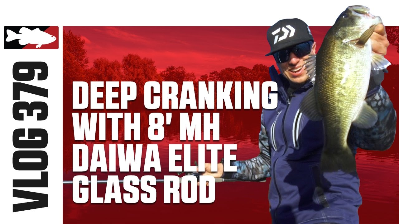 Brent Ehrler Deep Cranking with Daiwa's Elite Glass Crank Rod on San  Vicente - TW VLOG #379