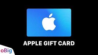 Como usar o Apple Gift Card