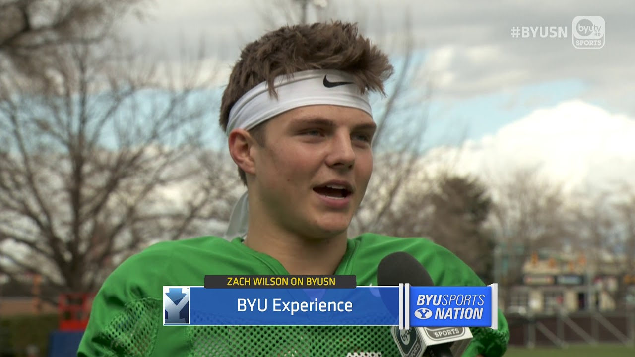 The cougars quarterback explained what happened with that famous prom where he took 2 byu cheerleaders. BYUSN- BYU Football Freshman QB Zach Wilson - 03.29.18 ...