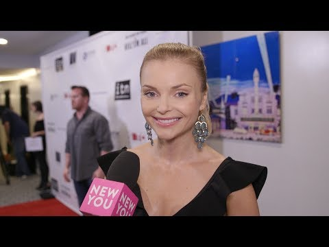 Izabella Miko at the Kill 'Em All Premiere