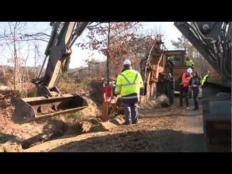 1000 kms de lignes électriques enfouies dans les Landes