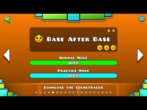 Geometry Dash - Base After Base All Coins
