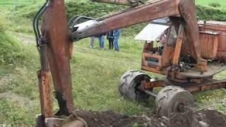 Gamla Grävmaskiner  (old excavators)