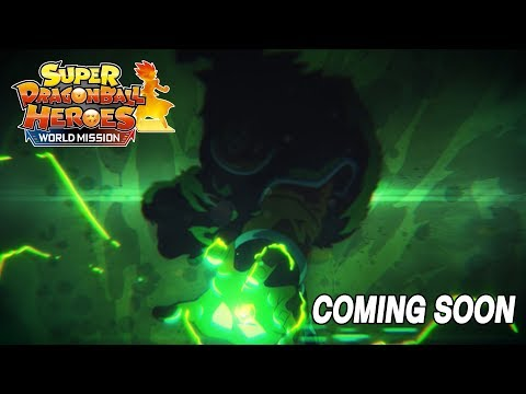 SUPER DRAGON BALL HEROES WORLD MISSION – NEW UPDATE TEASER