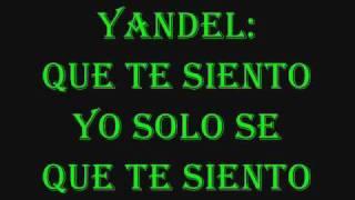 Te siento - Wisin y Yandel lyrics