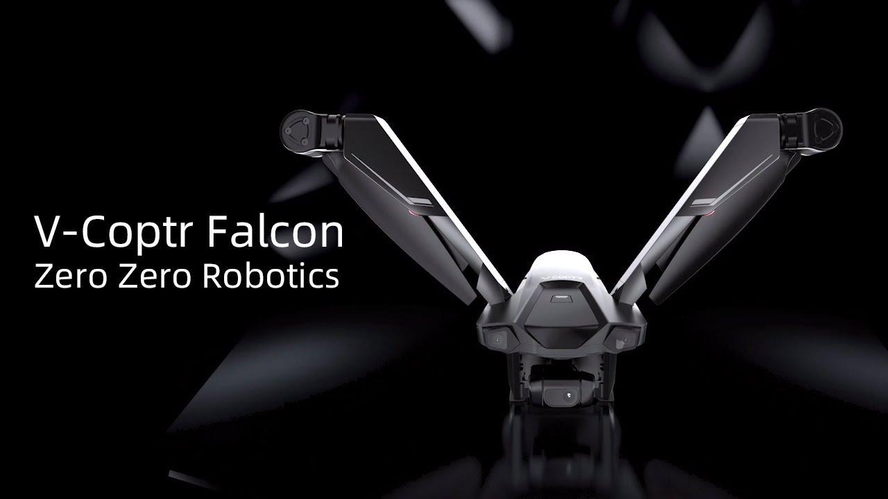 World's First V-Shaped Bi-Copter V-Coptr Falcon by ZeroZero Robotics