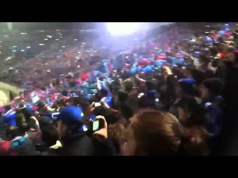 Salida Universidad de Chile vs Libertad | Copa Libertadores