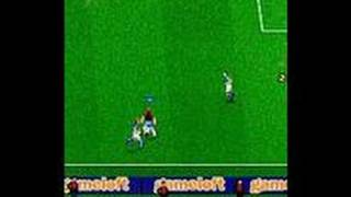 Marcel Desailly Pro Soccer N-Gage Gameplay