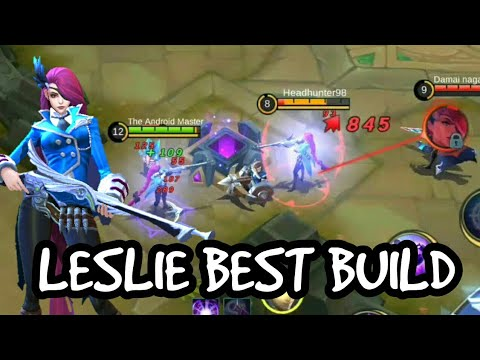 LESLIE Best Item Build Gameplay By The Android Master