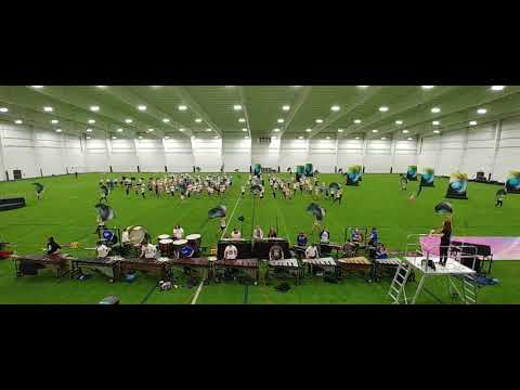 Fly to Paradise Show run-through before Grand Nationals Castle marching Knights