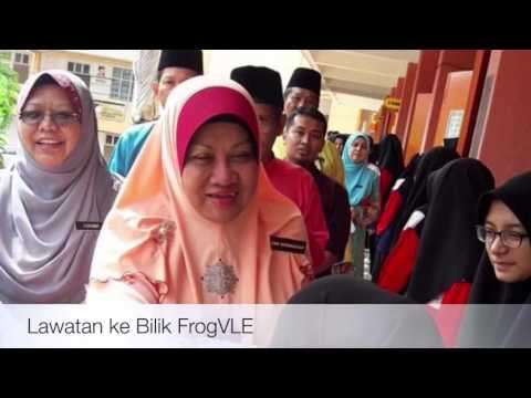 Majlis Perasmian Classroom Make Over SMK ( P ) Temenggong Ibrahim, Batu Pahat.