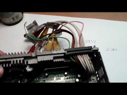 Ремонт автомагнитолы Philips поиск КЗ, подбор аналога (обучалка, советы:)