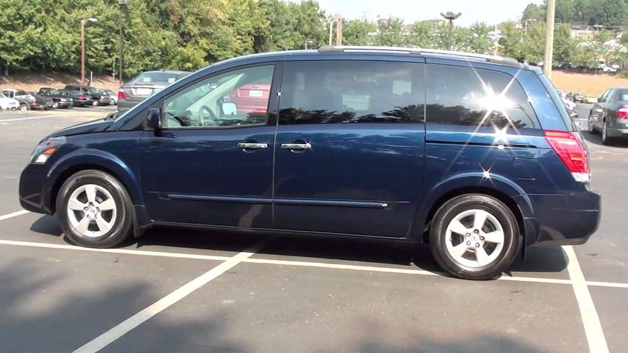 For sale 2008 nissan quest 35 se 1 owner stk p5799 www for sale 2008 nissan quest 35 se 1 owner stk p5799 lcford youtube vanachro Gallery