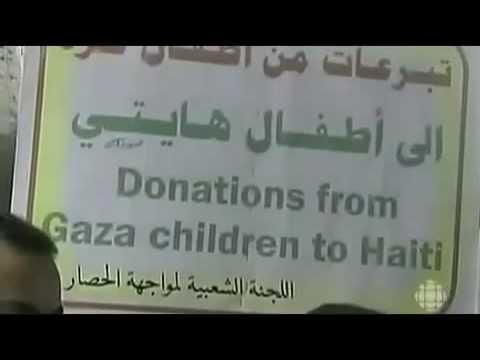 Gaza Photo-Op Haiti Aid