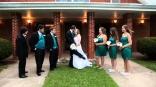 Jesse & Kelsey Wedding by Wedding Photographer Springfield MO - Creative Shots Photography