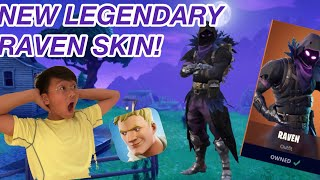 *NEW* LEGENDARY FORTNITE RAVEN SKIN!!!|| Fortnite Battle Royale #03