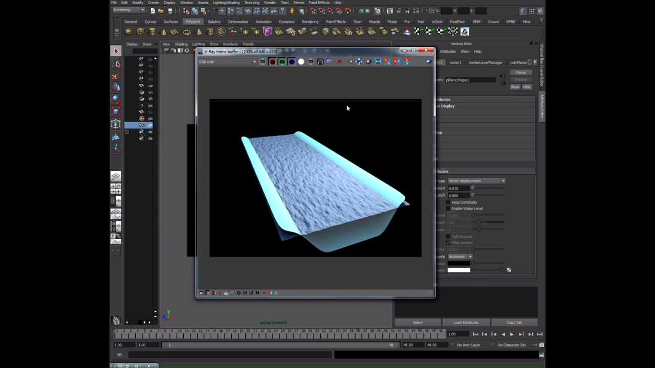 V-ray 2. 0 for maya with interactive rendering on cpu&gpu.