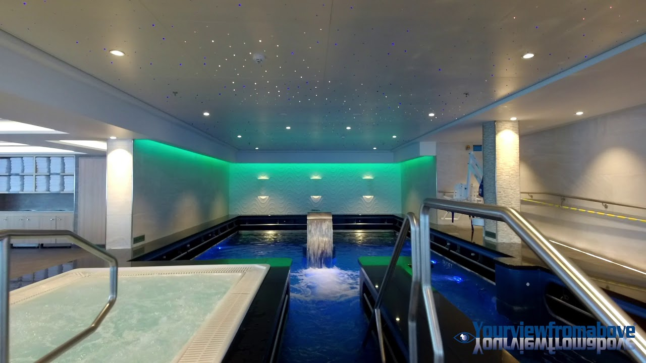 Norwegian Escape Thermal Spa In 4k