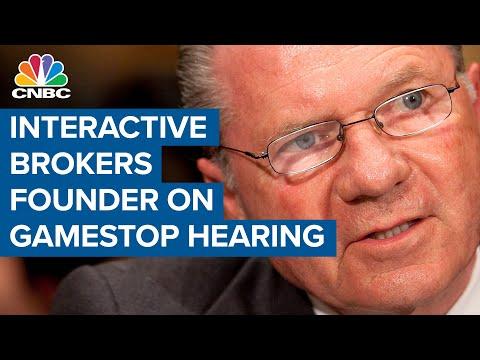Interactive Brokers' Thomas Peterffy on GameStop hearing