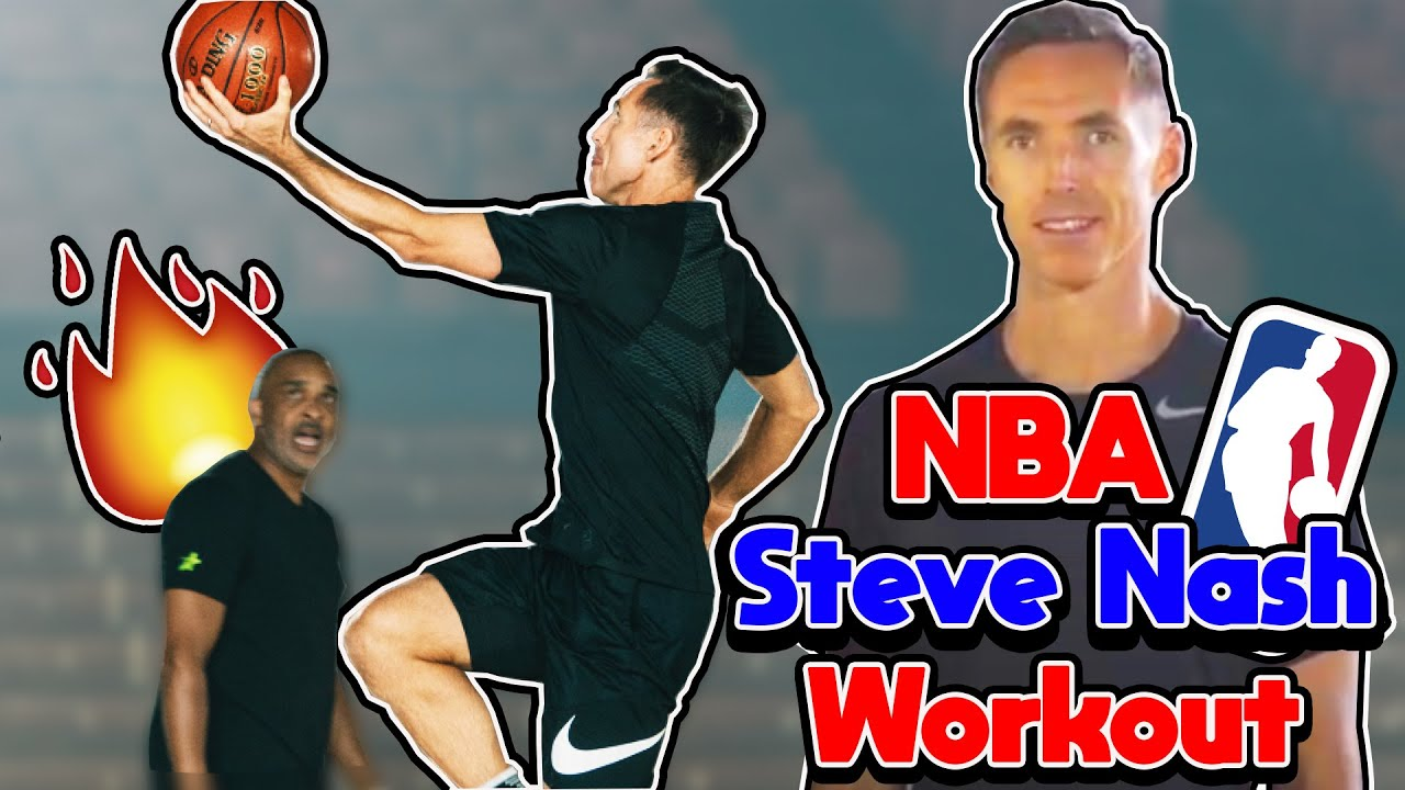 NBA Steve Nash Workout | How to Score in the Pick and Roll