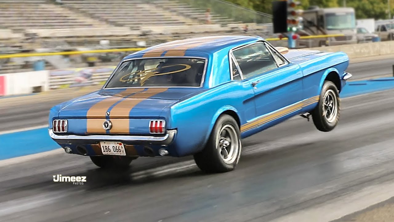 9sec Street Car 66 Mustang 250 Coupe Pump Gas Boss 302