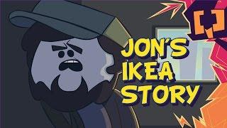 Jon's IKEA Story - Game Grumps Animated - by Dinnerjoe