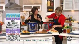 Kelly Diedring Harris presents the Elite 8 QT Pressure Cooker on HSN; 1.27.14