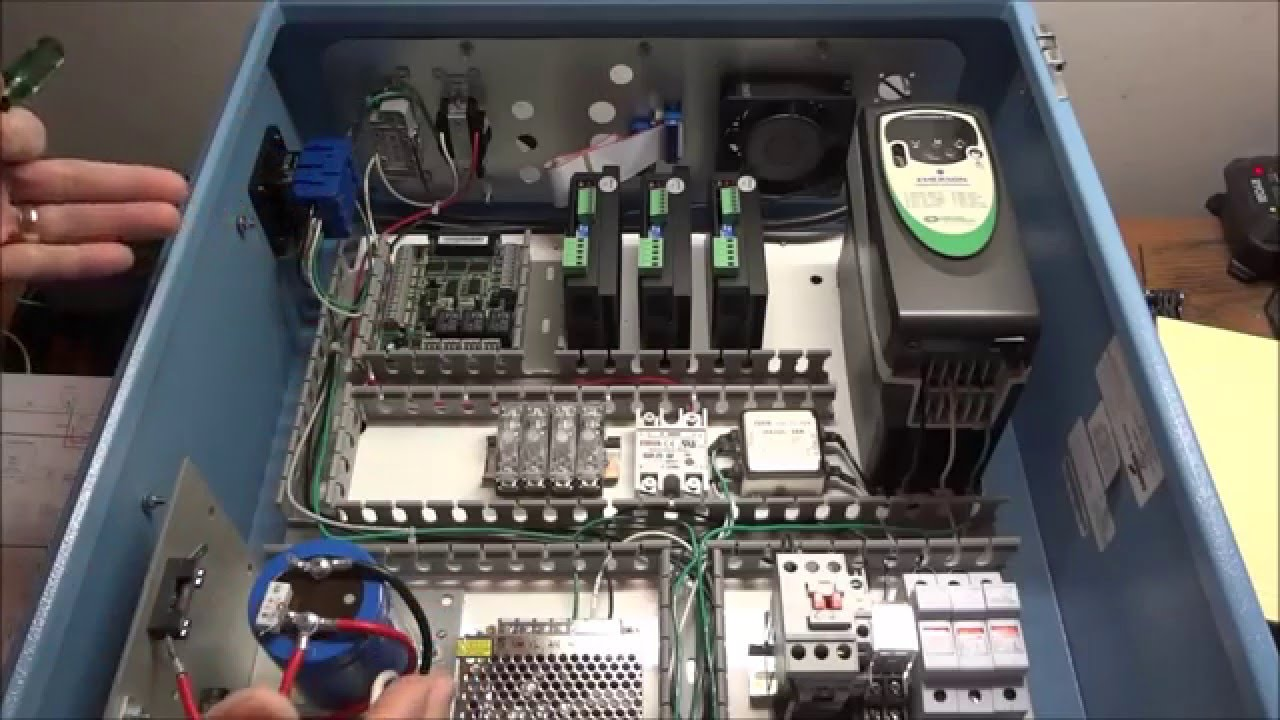 PM 727M CNC Electrical Wiring Part 3  YouTube