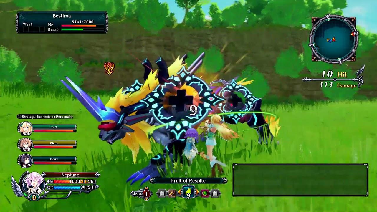 Cyberdimension Neptunia: 4 Goddesses Online - Gameplay #1 ...