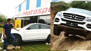 Off roading with Mercedes GLC 43 खूब धमाल . Thanks to T&T motors