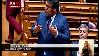 17-10-2018 - Debate Parlamentar | Orçamento do Estado para 2019 | Fernando Rocha Andrade