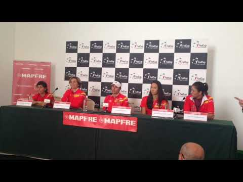 Fed Cup Spain La Manga Club PRE DRAW