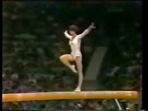 Olympic Champions - Moscow 1980 Beam - Nadia Comaneci
