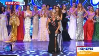 Mrs Earth Health 2017 Suzi Dent featured on 9 Gold Coast News 14/07/17