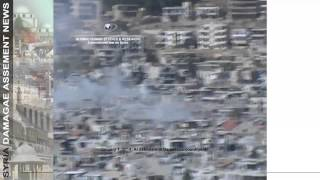News on damages in Damascus countryside   Al Zabadani   20140101