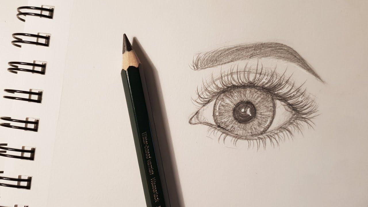 auge zeichnen lernen