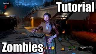 CALL OF DUTY: BLACK OPS 4 [PS4 PRO] ZOMBIES - Tutorial Gameplay Walkthrough [1080P HD] No Commentary
