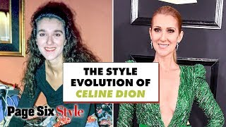 Celine Dion's style evolved from train wreck to iconic | Celebrity Style Evolution | Page Six Style