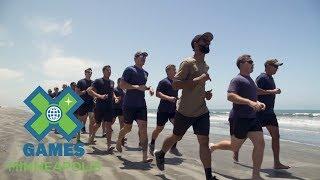 Mykel Larrin: America's Navy Athlete Profile   X Games Minneapolis 2017