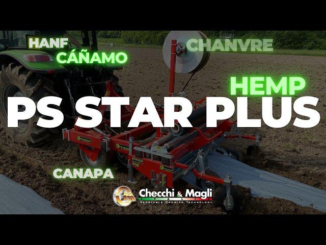 CHECCHI & MAGLI - PS14 STAR PLUS _ CANAPA-HEMP-CHANVRE-CÁÑAMO-HANF