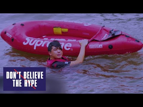 Supreme Kayak...On The Hudson River?? : Don't Believe the Hype